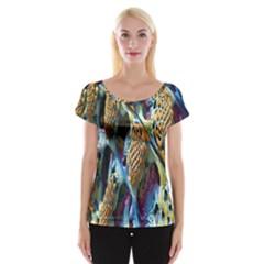 Background, Wallpaper, Texture Women s Cap Sleeve Top