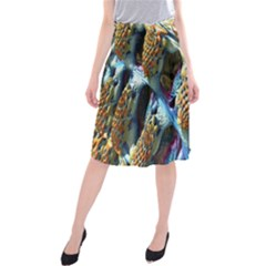 Background, Wallpaper, Texture Midi Beach Skirt