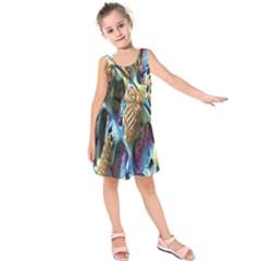 Background, Wallpaper, Texture Kids  Sleeveless Dress