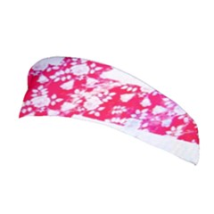 British Flag Abstract British Union Jack Flag In Abstract Design With Flowers Stretchable Headband