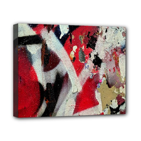 Abstract Graffiti Background Wallpaper Of Close Up Of Peeling Canvas 10  x 8