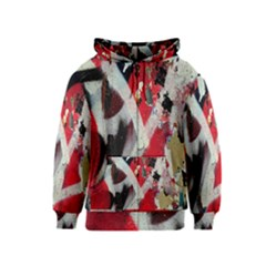 Abstract Graffiti Background Wallpaper Of Close Up Of Peeling Kids  Zipper Hoodie