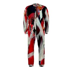 Abstract Graffiti Background Wallpaper Of Close Up Of Peeling OnePiece Jumpsuit (Kids)