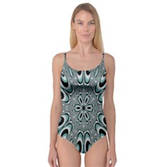Kaleidoskope Digital Computer Graphic Camisole Leotard