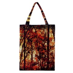 Forest Trees Abstract Classic Tote Bag