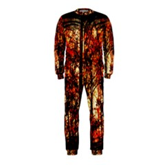 Forest Trees Abstract OnePiece Jumpsuit (Kids)