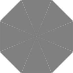 Plain Grey Straight Umbrellas