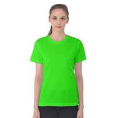 Plain Green Women s Cotton Tee