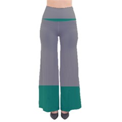 Trolley Grey Green Tropical Pants