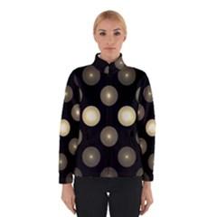 Gray Balls On Black Background Winterwear