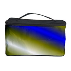 Color Diagonal Gradient Stripes Cosmetic Storage Case