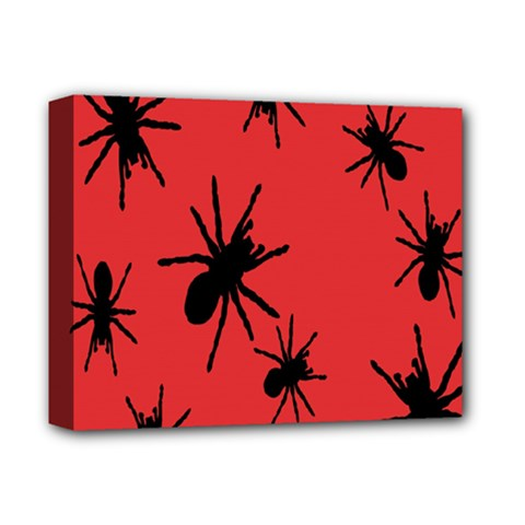 Illustration With Spiders Deluxe Canvas 14  X 11
