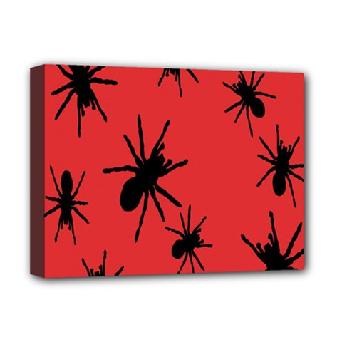 Illustration With Spiders Deluxe Canvas 16  x 12