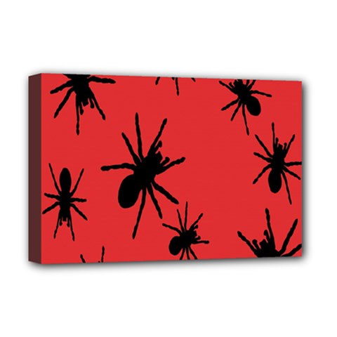 Illustration With Spiders Deluxe Canvas 18  x 12