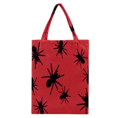 Illustration With Spiders Classic Tote Bag