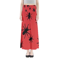 Illustration With Spiders Maxi Skirts