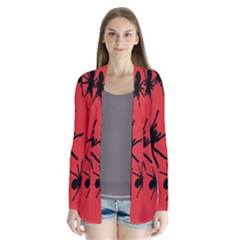 Illustration With Spiders Cardigans