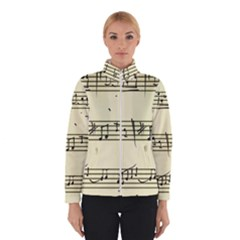 Music Notes On A Color Background Winterwear