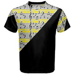 Note Abstract Paintwork Men s Cotton Tee