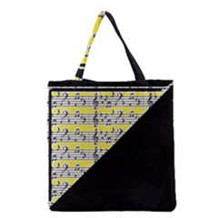 Note Abstract Paintwork Grocery Tote Bag