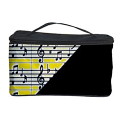 Note Abstract Paintwork Cosmetic Storage Case