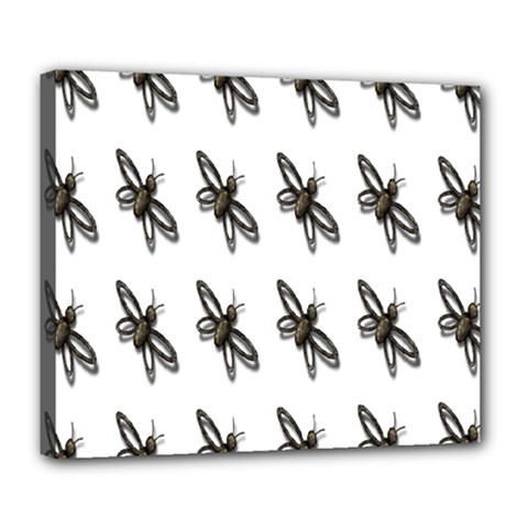 Insect Animals Pattern Deluxe Canvas 24  x 20