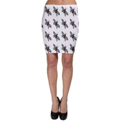 Insect Animals Pattern Bodycon Skirt