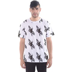 Insect Animals Pattern Men s Sport Mesh Tee