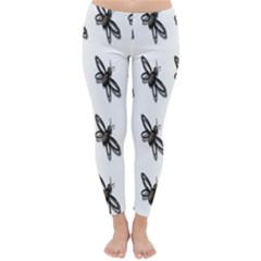 Insect Animals Pattern Classic Winter Leggings