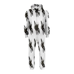 Insect Animals Pattern Hooded Jumpsuit (Kids)