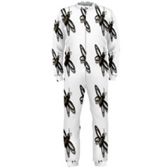 Insect Animals Pattern OnePiece Jumpsuit (Men)