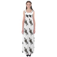 Insect Animals Pattern Empire Waist Maxi Dress