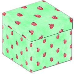 Pretty Background With A Ladybird Image Storage Stool 12