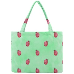 Pretty Background With A Ladybird Image Mini Tote Bag