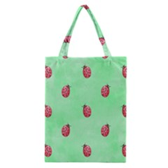 Pretty Background With A Ladybird Image Classic Tote Bag