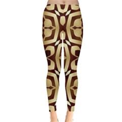 Abstract Seamless Background Pattern Leggings