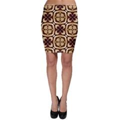 Abstract Seamless Background Pattern Bodycon Skirt