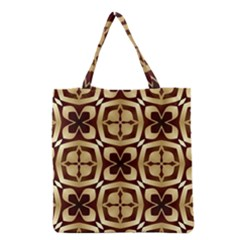 Abstract Seamless Background Pattern Grocery Tote Bag
