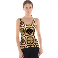 Abstract Seamless Background Pattern Tank Top