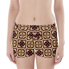 Abstract Seamless Background Pattern Boyleg Bikini Wrap Bottoms