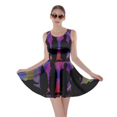Abstract Surreal Sunset Skater Dress