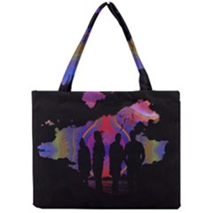 Abstract Surreal Sunset Mini Tote Bag