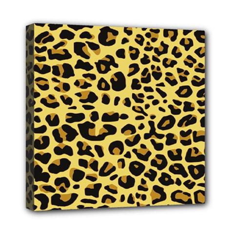 A Jaguar Fur Pattern Mini Canvas 8  x 8