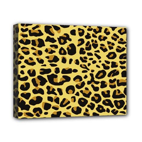 A Jaguar Fur Pattern Canvas 10  x 8