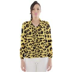 A Jaguar Fur Pattern Wind Breaker (Women)
