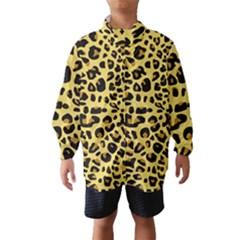A Jaguar Fur Pattern Wind Breaker (Kids)