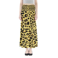 A Jaguar Fur Pattern Maxi Skirts