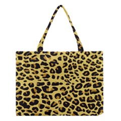A Jaguar Fur Pattern Medium Tote Bag