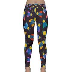 Bees Animal Insect Pattern Classic Yoga Leggings