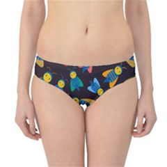 Bees Animal Insect Pattern Hipster Bikini Bottoms